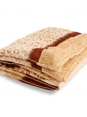 """Одеяло """"Золотое руно """" 140х205 овечья шерсть теплое Легкие сны"""