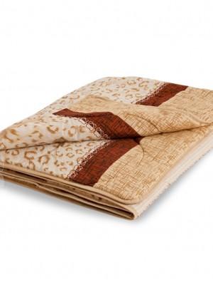 """Одеяло """"Золотое руно """" 200х220 овечья шерсть легкое Легкие сны"""