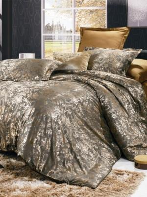 JC-10 Комплект постельного белья Сатин-жаккард (1,5 спальный)