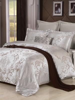 JC-28 Комплект постельного белья Сатин-жаккард (1,5 спальный)