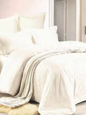 JC-61 Комплект постельного белья Сатин-жаккард (Семейный размер)