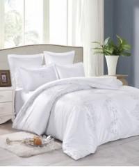 JC-70 Комплект постельного белья Сатин-жаккард (1,5 спальный)