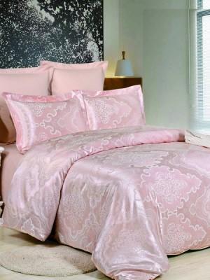 JC-38 Комплект постельного белья Сатин-жаккард (1,5 спальный)