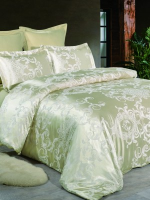 JC-48 Комплект постельного белья Сатин-жаккард (1,5 спальный)