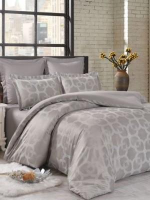 JC-67 Комплект постельного белья Сатин-жаккард (1,5 спальный)
