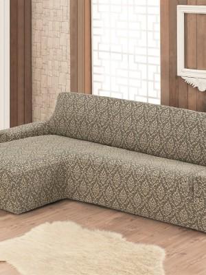 2915 Чехол на диван угловой правосторонний