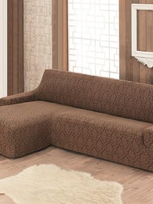 2916 Чехол на диван угловой правосторонний