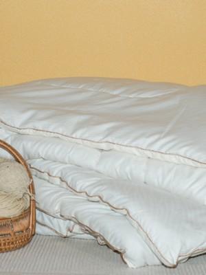 """Одеяло из овечьей шерсти """"Шерстяной завиток"""""""