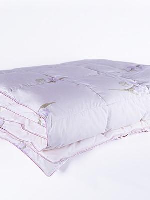 """Одеяло кассетное пуховое """"Царственный Ирис"""" Евро"""