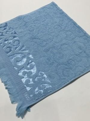 Голубой Premiata 50х90 хлопок М полотенце (1шт) Фиеста