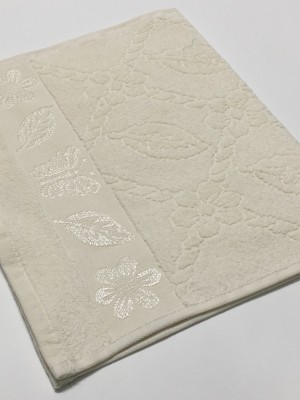 Шампань Cotton ( Бабочка ) 50х90 хлопок М полотенце (1шт) Фиеста