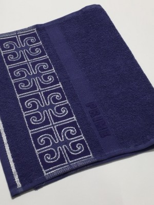 Синий Prime 30х50 хлопок М полотенце (1шт) Фиеста