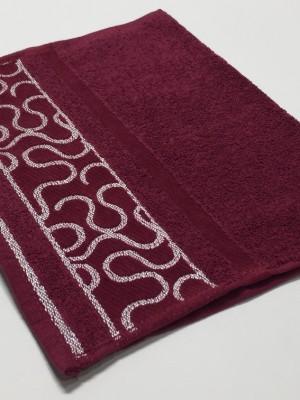 Бордо Arabeska 70х130 хлопок М полотенце (1шт) Фиеста