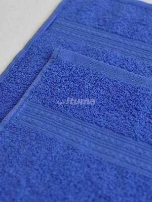 Синее 100х180 Полотенца махровое 1 шт ITUMA