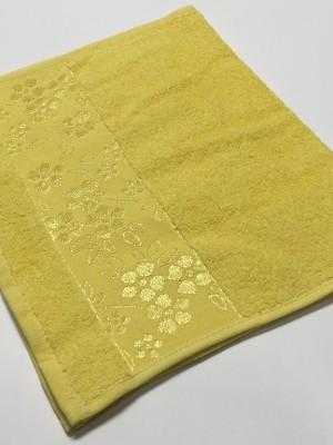 Желтый ELARA 70х130 хлопок М полотенце (1шт) Фиеста