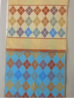 8120 Ромбики М-Л 34х76 ( 15шт ) полотенце 7-Я