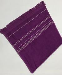 Фиолетовый Econik 80х150 бамбук полотенце (1шт) Фиеста