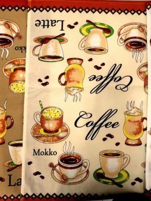 кухня В Кофе Latte 60х50 (12шт ) арт. KX056 полотенце LIKE TEXTILE