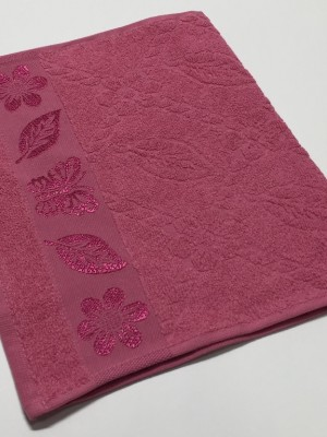 Черника Cotton ( Бабочка ) 70х130 хлопок М полотенце (1шт) Фиеста