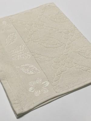 Шампань Cotton ( Бабочка ) 70х130 хлопок М полотенце (1шт) Фиеста
