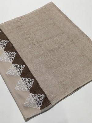 Бежевый Penelopa 70х130 бамбук полотенце (1шт) Фиеста