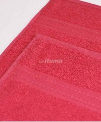 Малиновое 70х140 Полотенца махровое 1 шт ITUMA