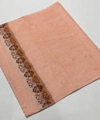 Персик Jardin 50х90 бамбук полотенце (1шт) Фиеста