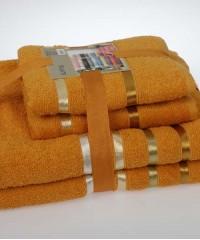 953 BALE Темно-Желтый (50х80х2шт+70х140х2шт) комплект пол-нец Карна