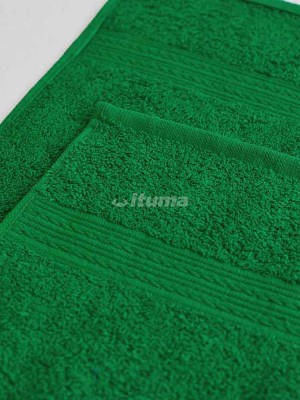Ярко-зеленое 100х180 Полотенца махровое 1 шт ITUMA