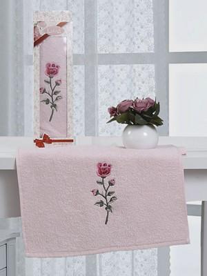 2453 Розовый ROSA HEVIN М 40х60 пол-це с вышивкой в коробке Карна