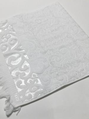 Белый Premiata 50х90 хлопок М полотенце (1шт) Фиеста