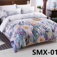 SMX-19 Комплект постельного белья Евро размера из Сатина премиум