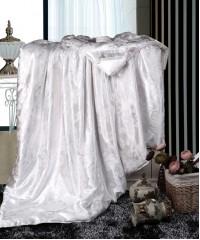 одеяло-шелк-бел160х220 Шёлковое одеяло Люкс всесезонное