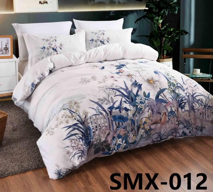SMX-12 Комплект постельного белья Евро размера из Сатина премиум