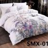 SMX-13 Комплект постельного белья Евро размера из Сатина премиум