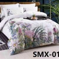 SMX-15 Комплект постельного белья Евро размера из Сатина премиум