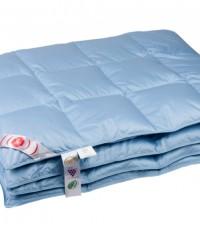 """Одеяло кассетное теплое """"Дебют"""" 150х200 см наполнитель: серый гусиный пух первой категории"""