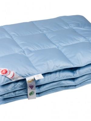 """Купить одеяло кассетное теплое """"Дебют"""" 200х220 см наполнитель: серый гусиный пух первой категории"""