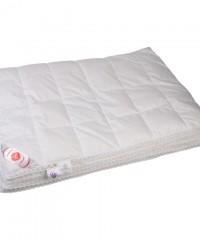 """Купить одеяло кассетное всесезонное """"Глория"""" 150х200 см наполнитель: элитный белый гусиный пух категории премиум"""