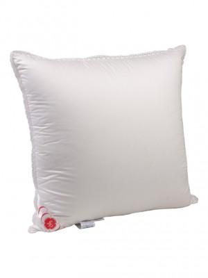 """Подушка средняя """"Глория"""" 60х60 см наполнитель: элитный белый гусиный пух категории премиум"""