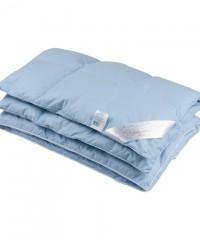 Детское пуховое одеяло «Серый гусенок», 118x118 см