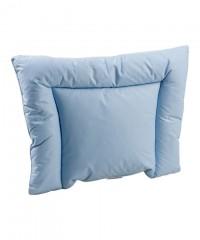 Детская анатомическая пуховая подушка для новорожденного «Серый гусенок» 38x50 см