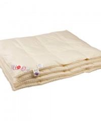 """Купить одеяло кассетное всесезонное """"Приданое"""" 172х205 см наполнитель: серый гусиный пух первой категории"""