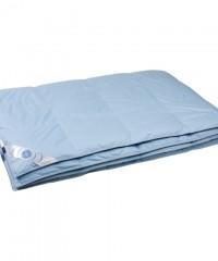 """Купить одеяло кассетное всесезонное """"Дуэт"""" 140х205 см наполнитель: элитный серый гусиный пух категории премиум"""