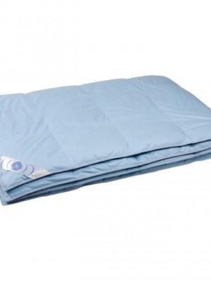 """Купить одеяло кассетное облегченное """"Дуэт"""" 140х205 см наполнитель: элитный серый гусиный пух категории премиум"""