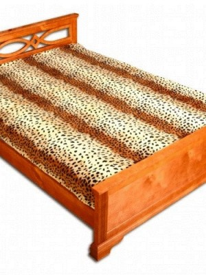 ZA MF a101 Шкура гепарда в полоску 180х230 микрофибра плед Absolute