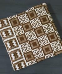 Коричневое ( Элегант ) 5772ВЖК 215х150 100% х/б Байковое жак Ермолино одеяло