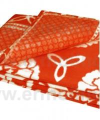 Красный 5772ВЖ 215х150 75% х/б +25% вискоза х/б Ермолино одеяло