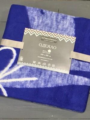 Сумеречный Олененок 57-8ЕТЖ Премиум 100х140 100% х/б Байковое жаккард Ермолино одеяло