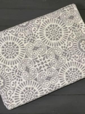 Темно-Серое Ажур 5772ВЖК 215х150 100% х/б Байковое жак Ермолино одеяло